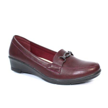 Lunar Etta Burgundy Shoes
