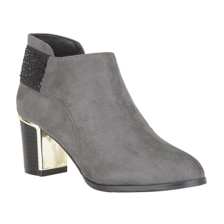 Lotus Beth Grey Shoe Boots