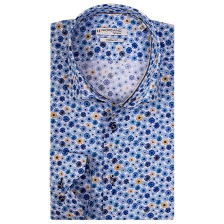 Giordano flower print shirt