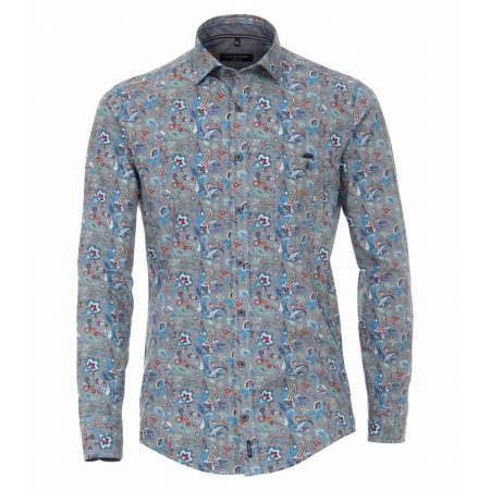 Casa Moda paisley patterned shirt