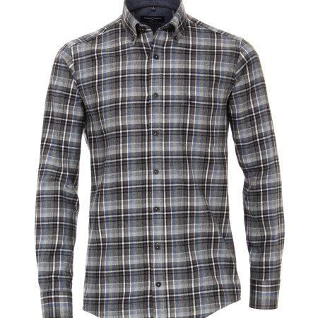 Casa Moda brushed cotton shirt