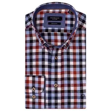 Giordano multi coloured check shirt