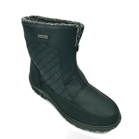 Embrace Black Comfort Snow Boots