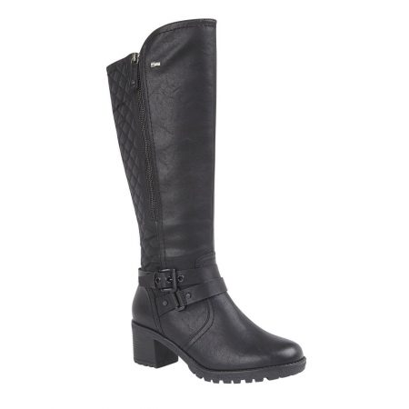 Lotus Relife Mabel Black Boots