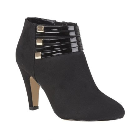 Lotus Nell Black Shoe Boots