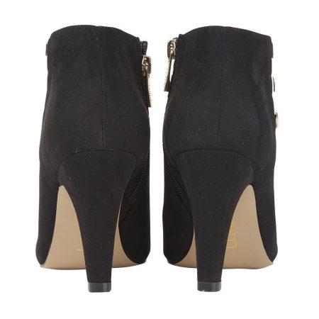 Lotus Nell Black Shoe Boots