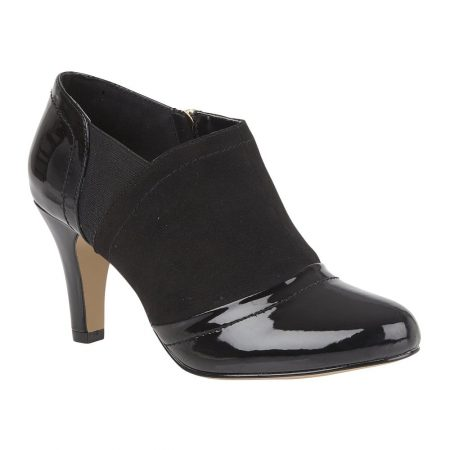Lotus Skylar Black Shoe Boots