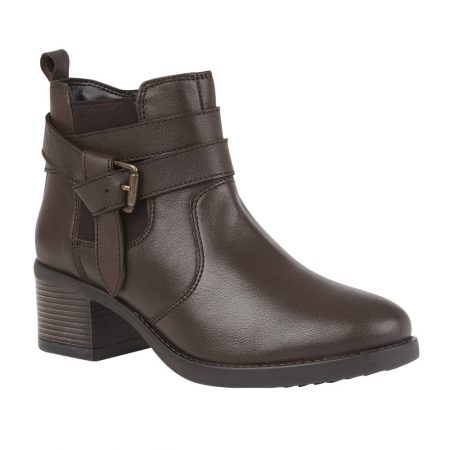 Lotus Janet Brown Ankle Boots