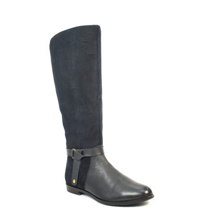 Lunar Dynasty Navy Long Boots