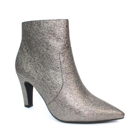 Lunar Gala Metallic Pewter Boots