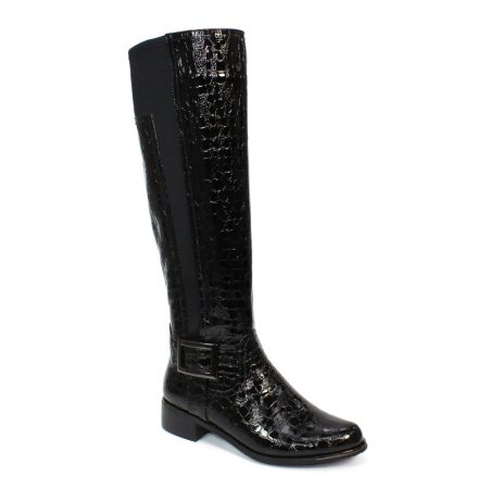 Lunar Kizzy Black Long Boots