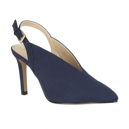 Lotus Isobel Navy Heels