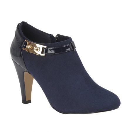 Lotus Vicki Navy Shoe Boots