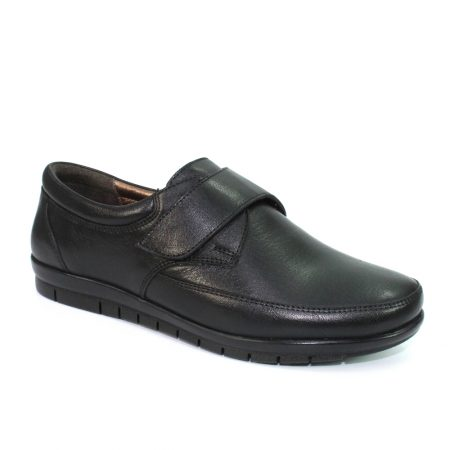Lunar Petra Black Leather Shoes