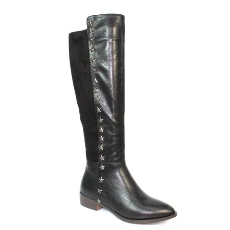 Lunar Pina Black Long Boots