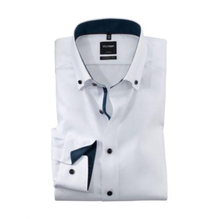 Olymp button down collar white shirt
