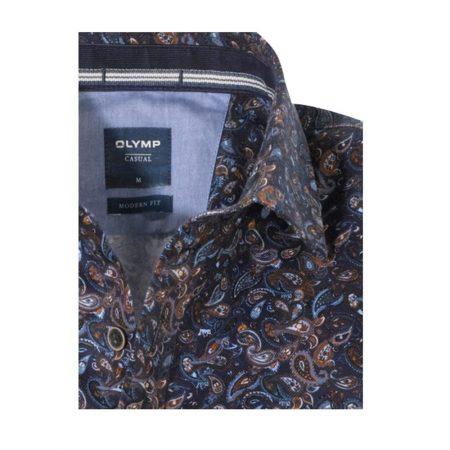 Olymp navy casual shirt