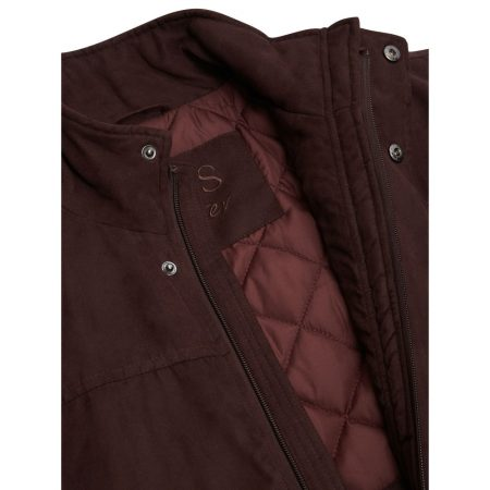 Wellington Bartley Burgundy Casual Jacket
