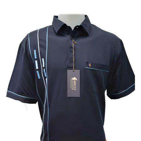 Gabicci Navy Sports Shirt