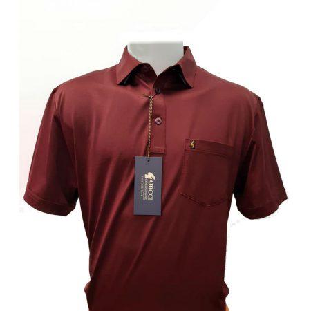 Gabicci Cabernet Plain Sports Shirt