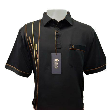 Gabicci Black Sports Shirt