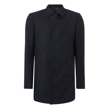 Remus Uomo Lohman Grey Wool Coat