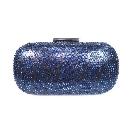 Lunar Francie Navy Blue Evening Bag