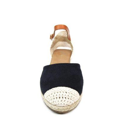 Lunar Jessie Navy Wedge Espadrille Sandals