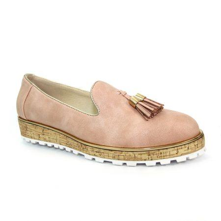 Lunar Rimini Pink Loafer Shoes