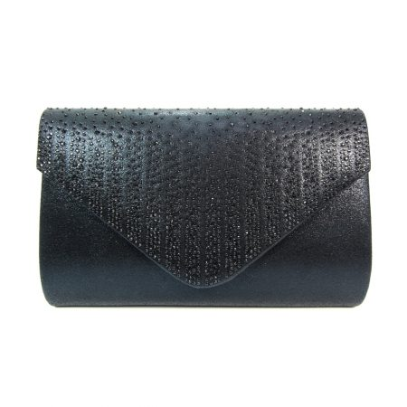 Lunar Ruthin Black Evening Bag