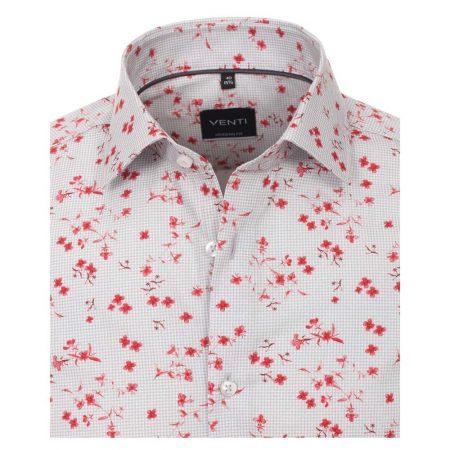 Venti grey patterned shirt