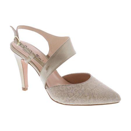 Capollini Anastasia Platino High Heels