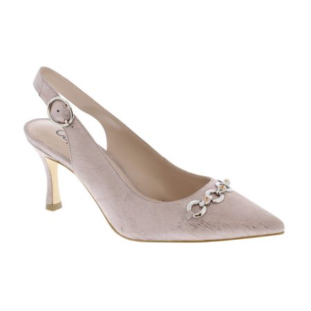 Capollini Eloise Dusky Pink Heels