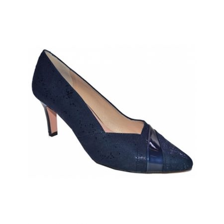 Capollini Selena Navy Blue Heels