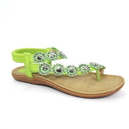Lunar Charlotte Lime Green Sandals
