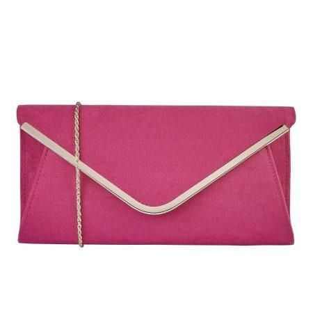 Lotus Sommerton Fuchsia Pink Evening Bag