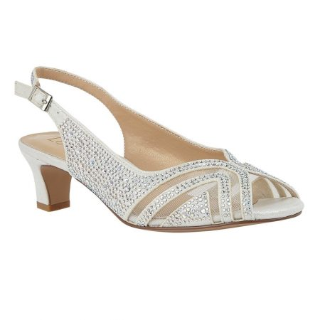 Lotus Glinda Ice Low Heel Sandals