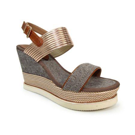 Lunar Laurel High Wedge Sandals
