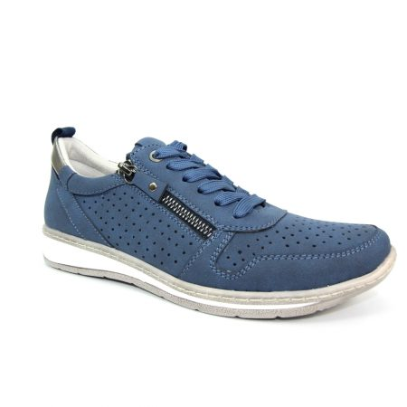 Lunar Leap Blue Trainers