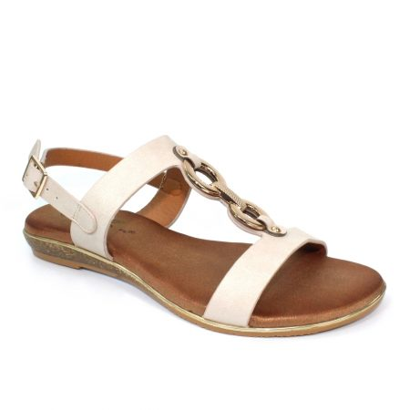 Lunar Maldives Beige Flat Sandals