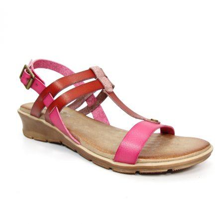 Lunar Mona Pink Flat Sandals