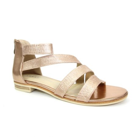 Lunar Sol Rose Gold Gladiator Sandals