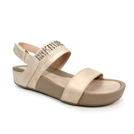 Lunar Venus Beige Comfort Sandals