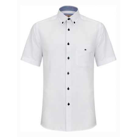 Drifter white short sleeve shirt