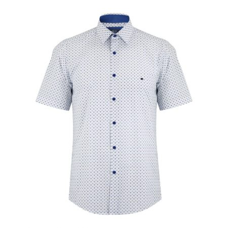 Drifter blue patterned shirt