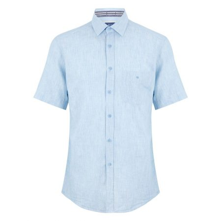 Drifter blue short sleeve shirt
