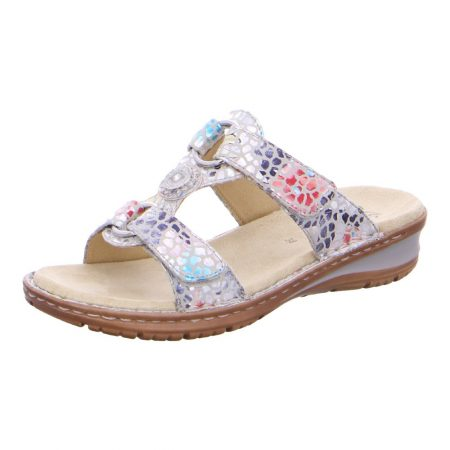 Ara Hawaii Multi Colour Flat Sandals