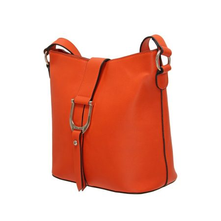 Envy Orange Medium Shoulder Bag