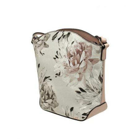 Envy Blush Pink Floral Shoulder Bag