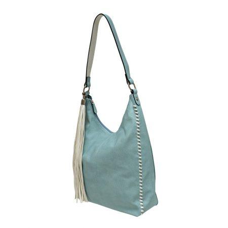 Envy Pale Blue Large Shoulder Bag
